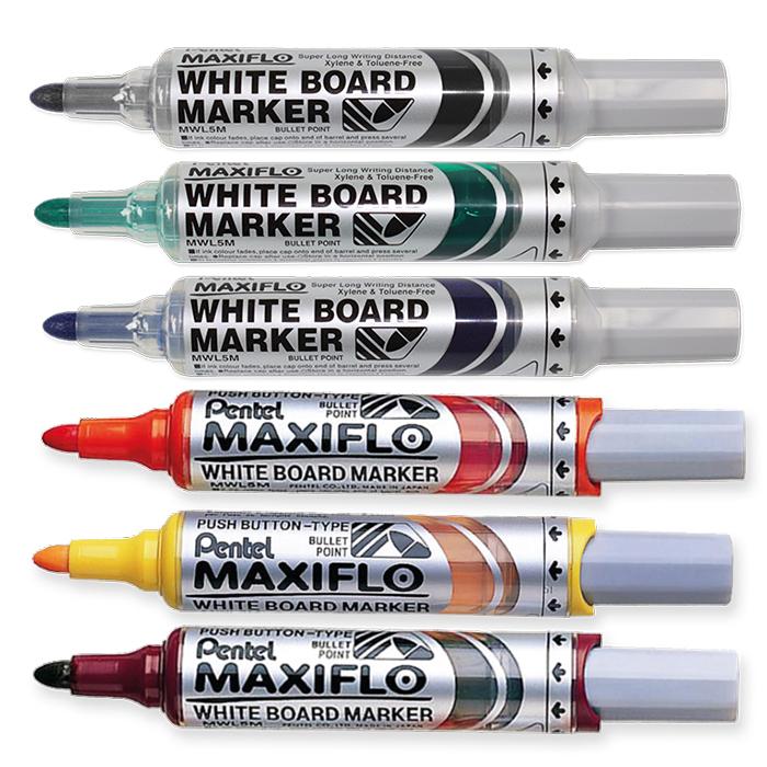 Pentel Whiteboardmarker Maxiflo breit