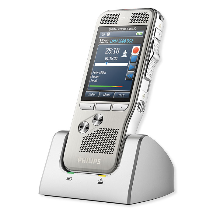 Philips Mobile dictation device DPM 8000