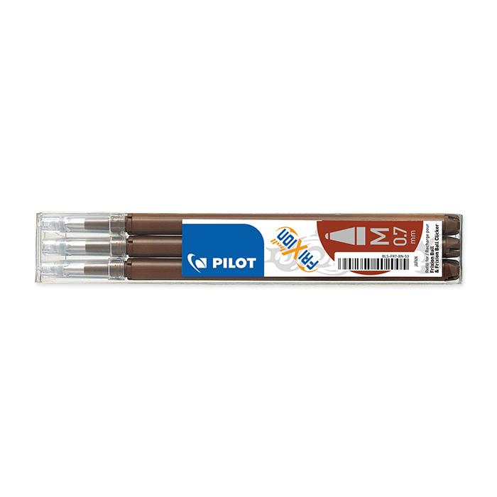 Pilot Rollerball pen cartridge FriXion Ball brown