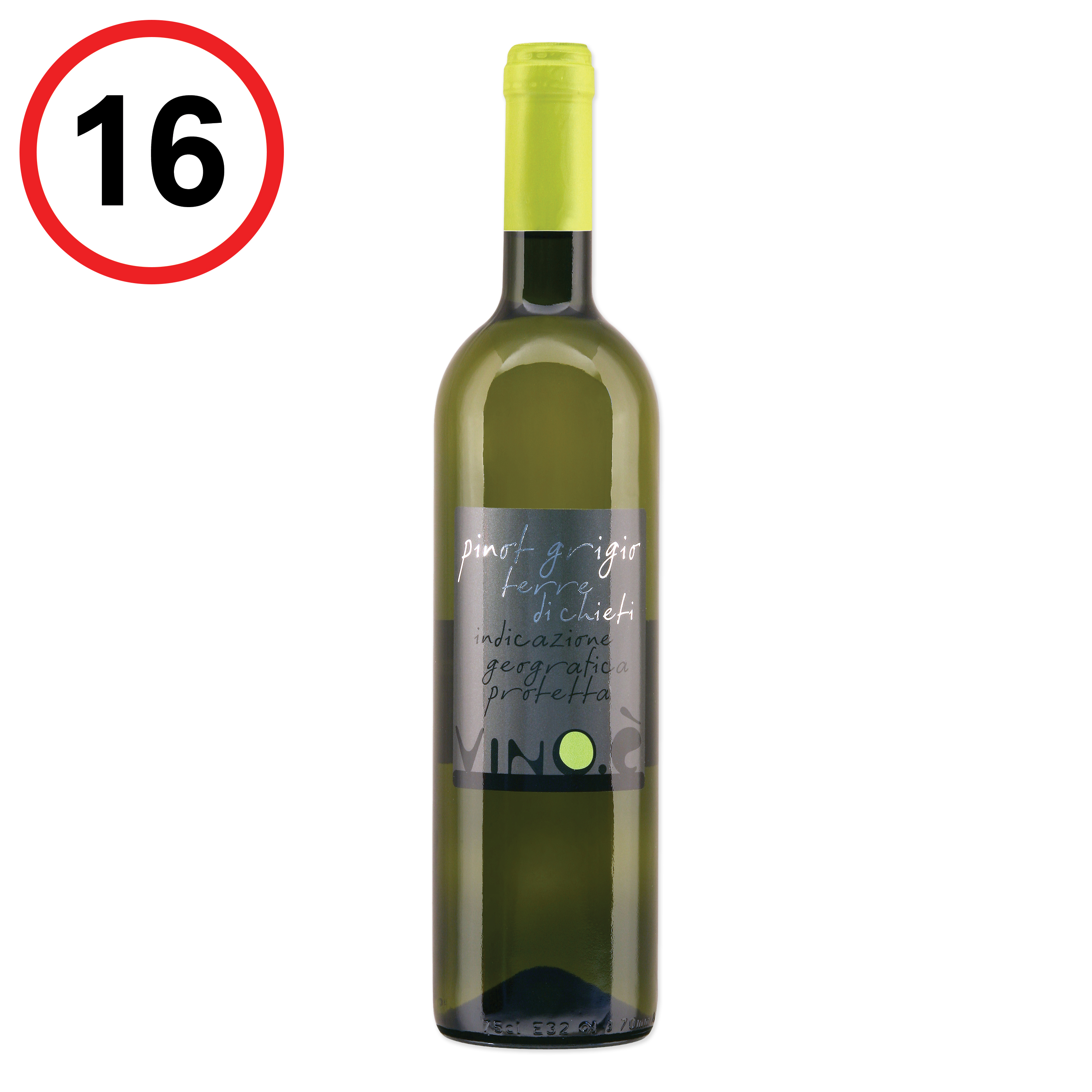 Pinot Grigio terre di chieti IGP, Weisswein