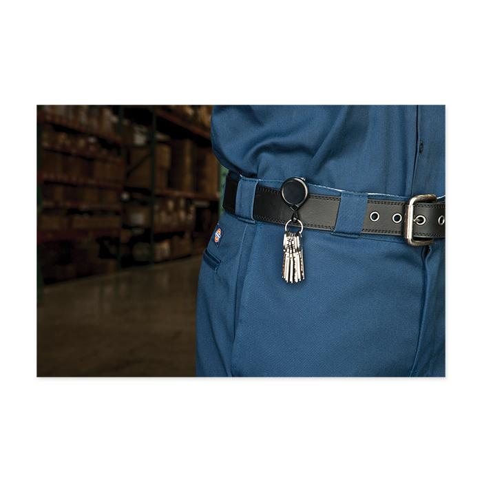 Porte clés avec chainette noir