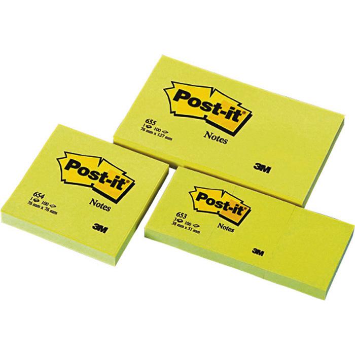 Post-it Foglietti adesivi Original gialli 76 x 76 mm 458a06f4169
