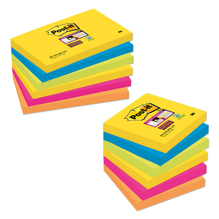 Post-it Haftnotizen Super Sticky Rio