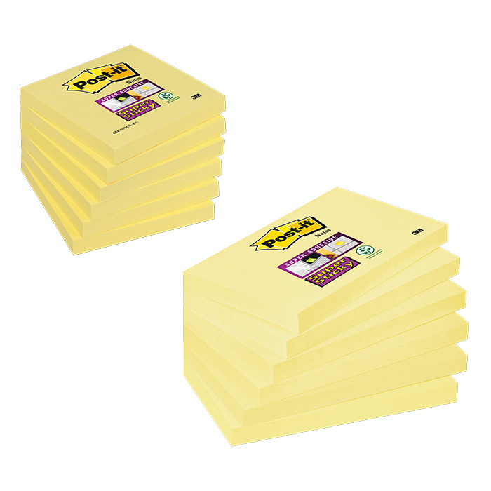 Post-it Haftnotizen Super Sticky gelb