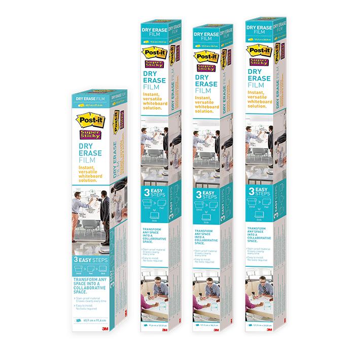 Post-it Super Sticky Dry Erase Whiteboardfolie