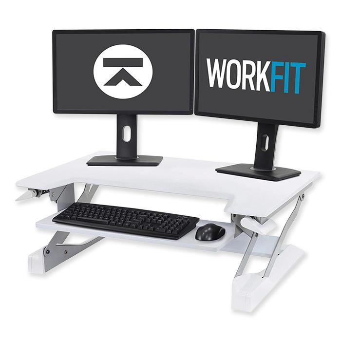 Postazione di lavoro per postura seduta/eretta Ergotron WorkFit-T