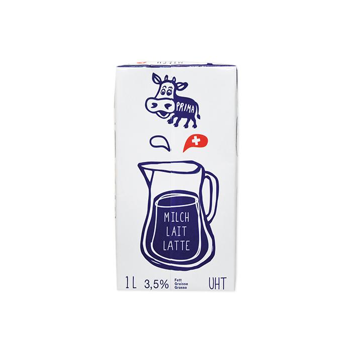 Prima lait UHT, Tetra Pack