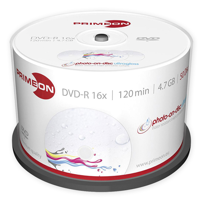 Primeon DVD-R, Printable