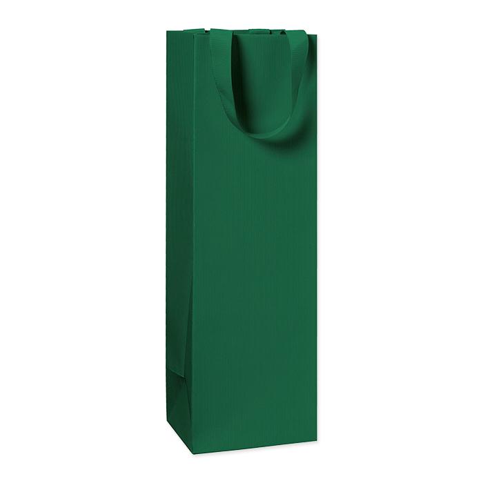 Stewo Flaschentüten One Colour dunkel grün