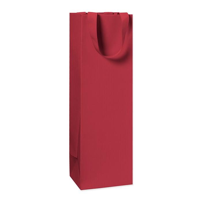 Stewo Flaschentüten One Colour dunkel rot