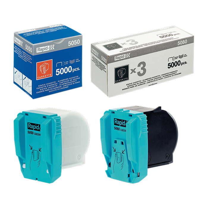 Rapid Heftklammernkassette zu Elektrohefter Supreme