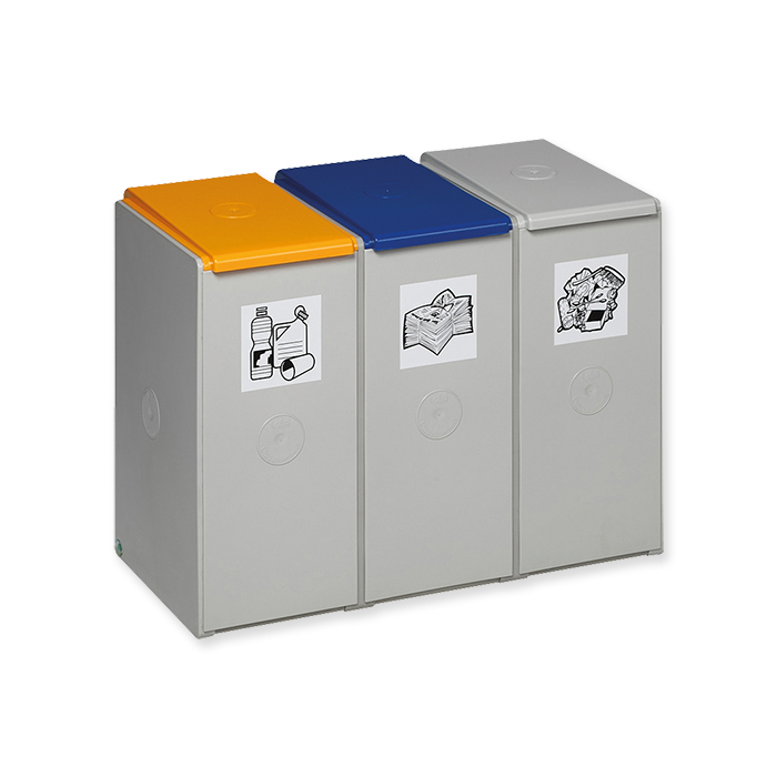 Recyclable material collection box