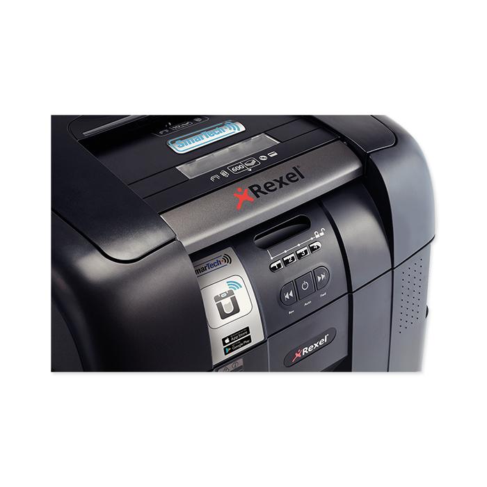 Rexel Aktenvernichter Auto+ 600X SmarTech
