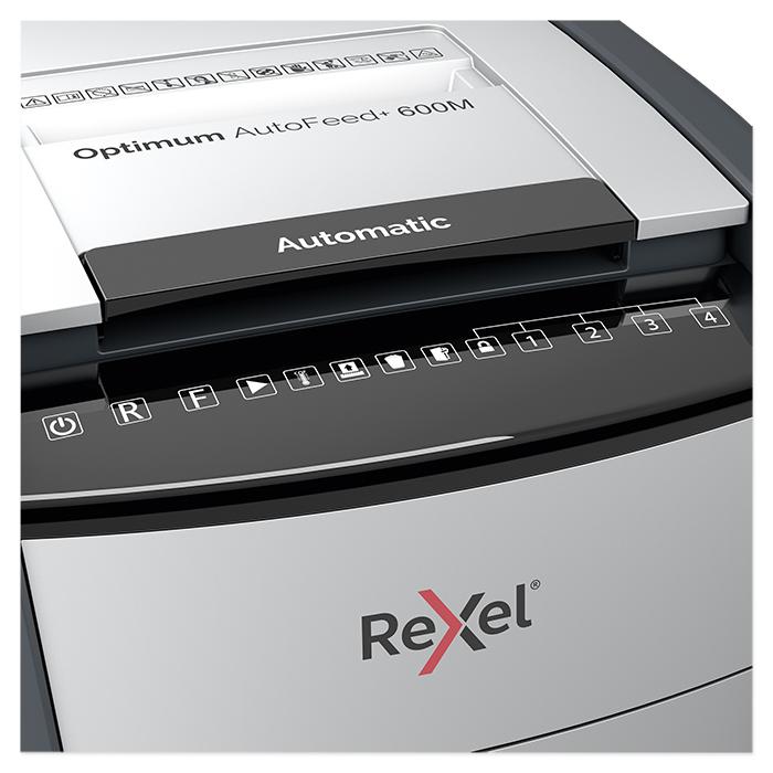 Rexel Document shredder Optimum AutoFeed+ 600M / 600X