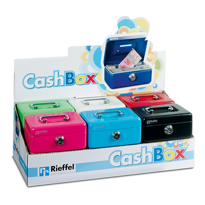 Rieffel Caisse à monnaie Cash-Box Mini