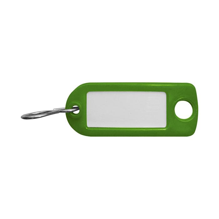 Rieffel Portachiavi in plastica verde