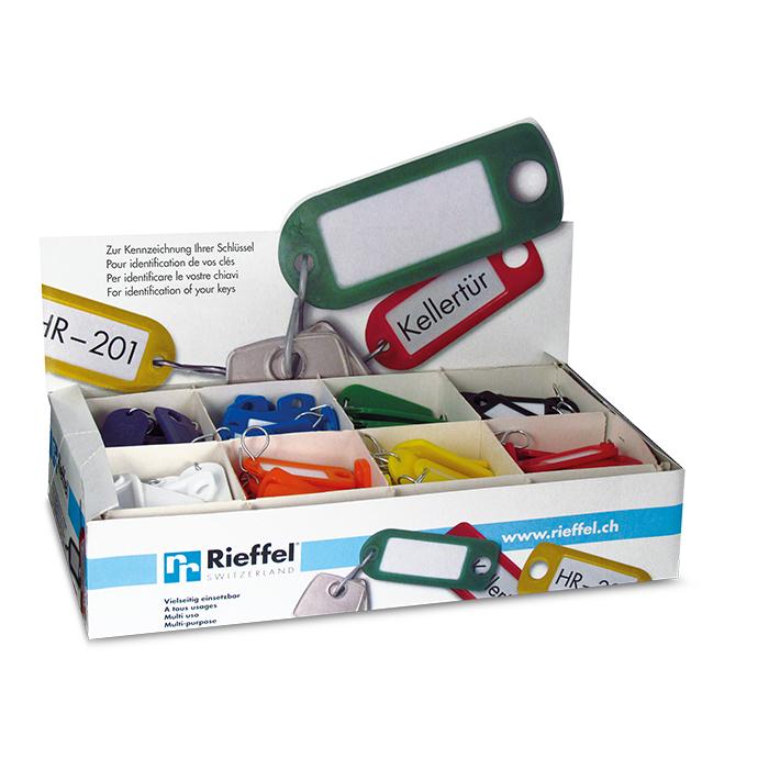 Rieffel Key hanger Plastic assorted