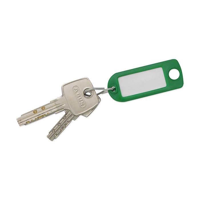 Rieffel Schlüsselanhänger Plastik grün