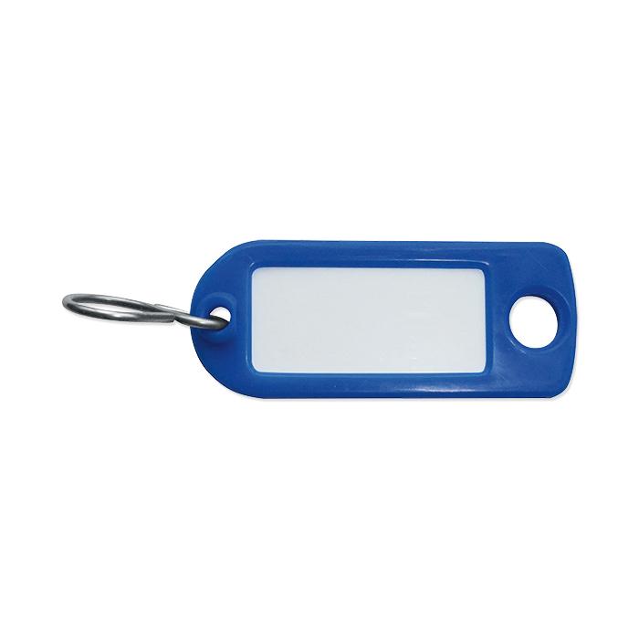 Rieffel Schlüsselanhänger Plastik blau