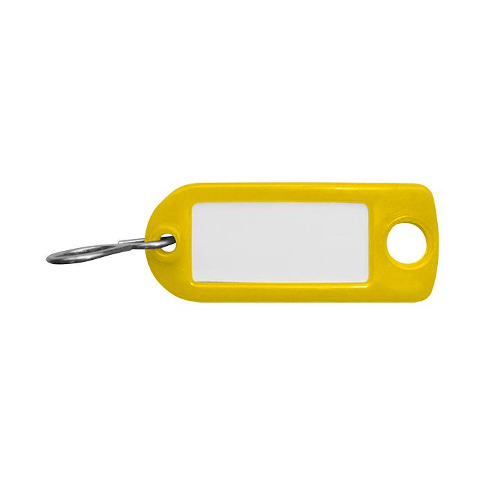 Rieffel Schlüsselanhänger Plastik gelb