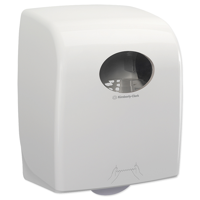 distributeur d'essuie-mains Aquarius blanc