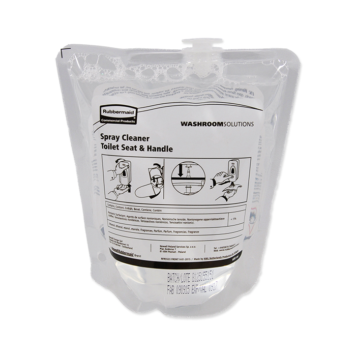 Rubbermaid refill bag for toilet seat cleaner