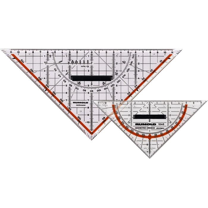 Rumold Geo-Dreieck Plexiglas