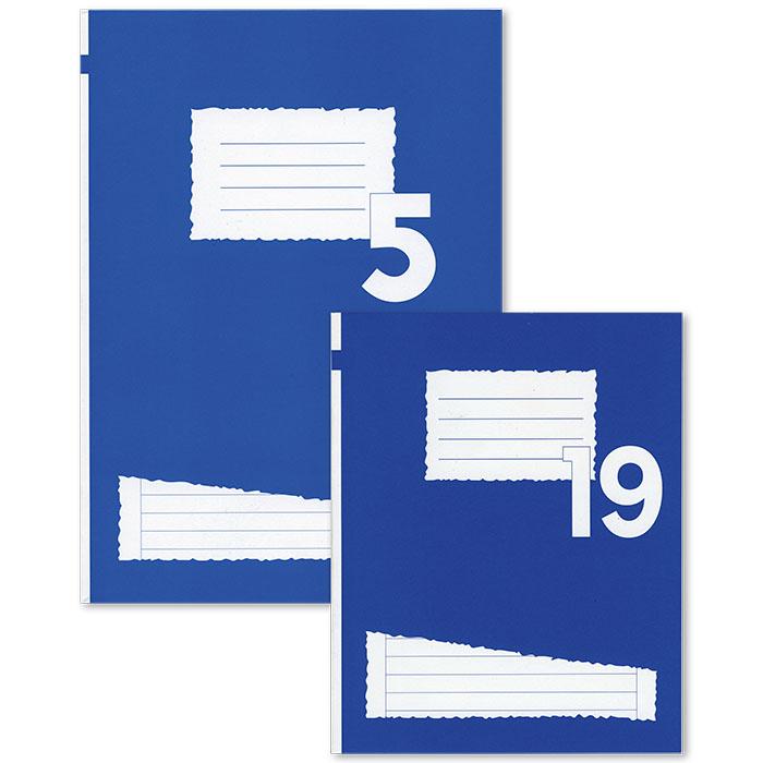 Cahiers ligné 9 mm
