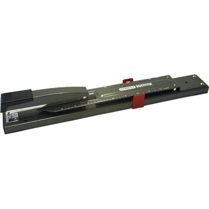 Long arm staplers