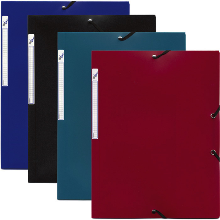 Folder with Elastic Bands