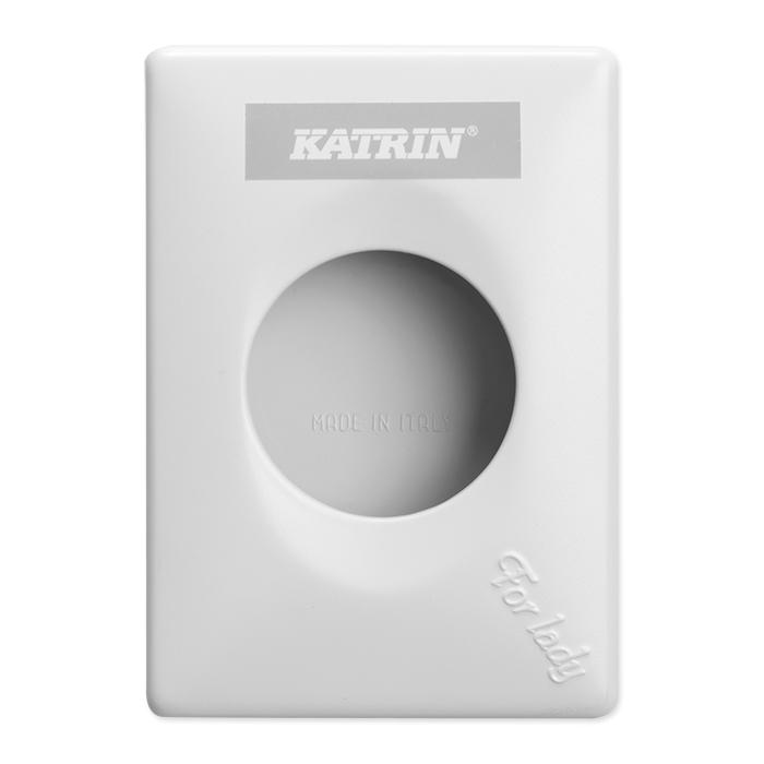 distributeur de sachets hygiéniques Katrin blanc