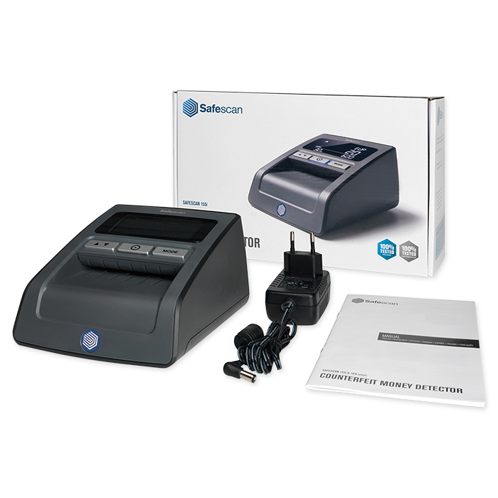 Safescan Rilevatore di banconote false 155-S