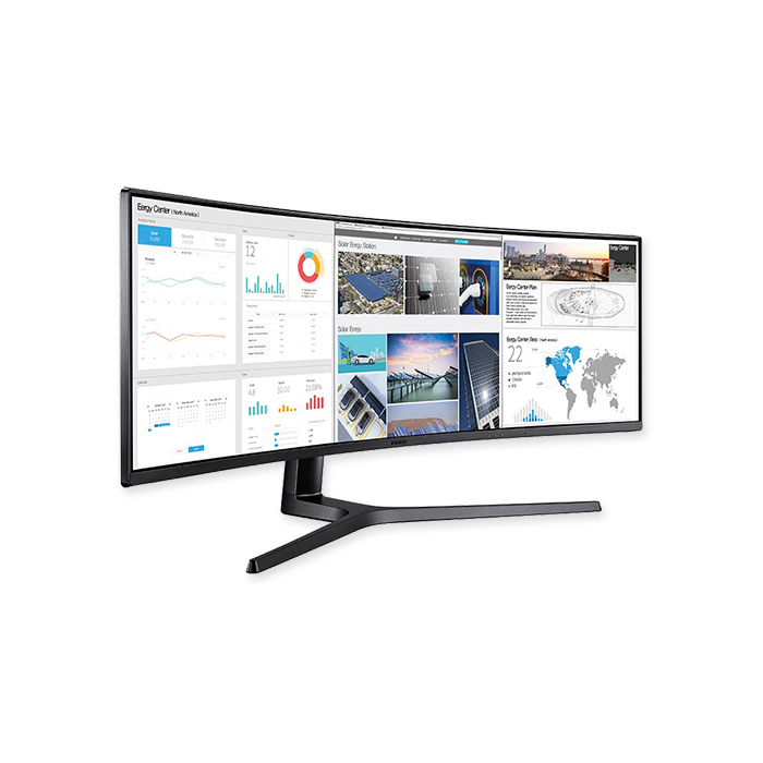 Samsung LCD Monitor curved C43J89