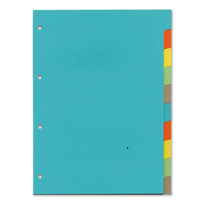 office focus Blanko-Register 10-teilig