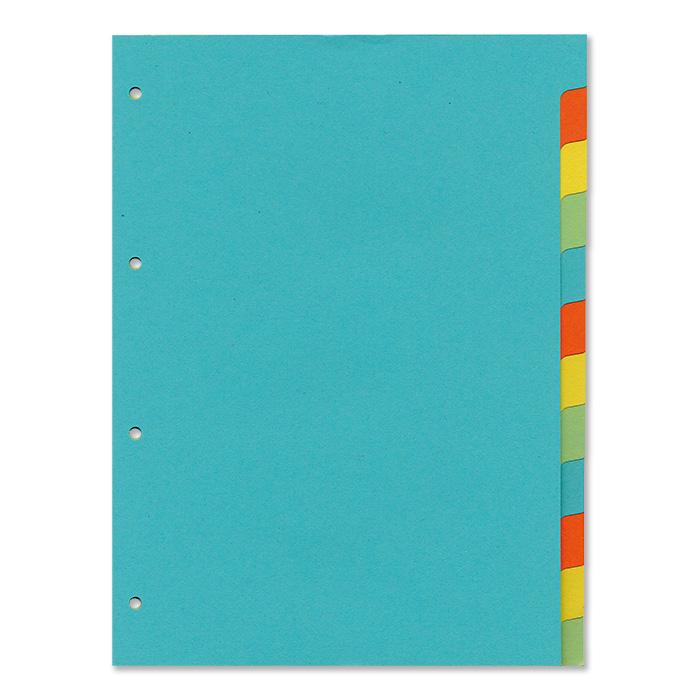 office focus Blanko-Register 12-teilig