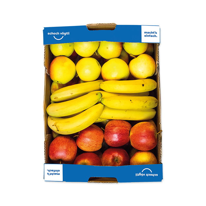 Schoch Vögtli 3-piece Fruit Box apple-banana