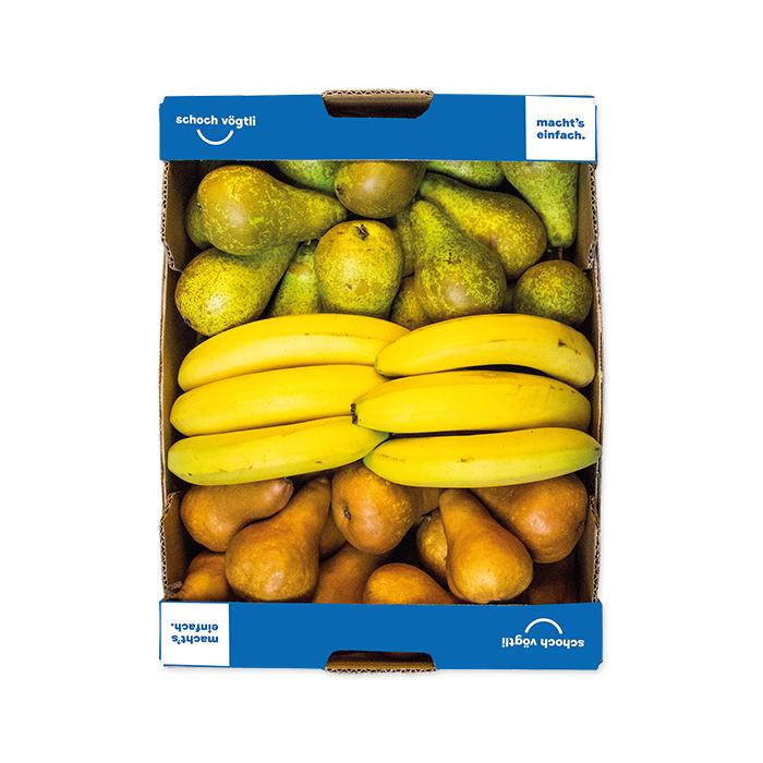 Schoch Vögtli 3-piece Fruit Box pear-banana