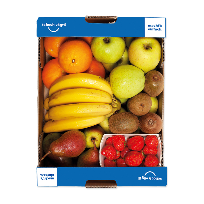 Schoch Vögtli 6p cassetta di frutta