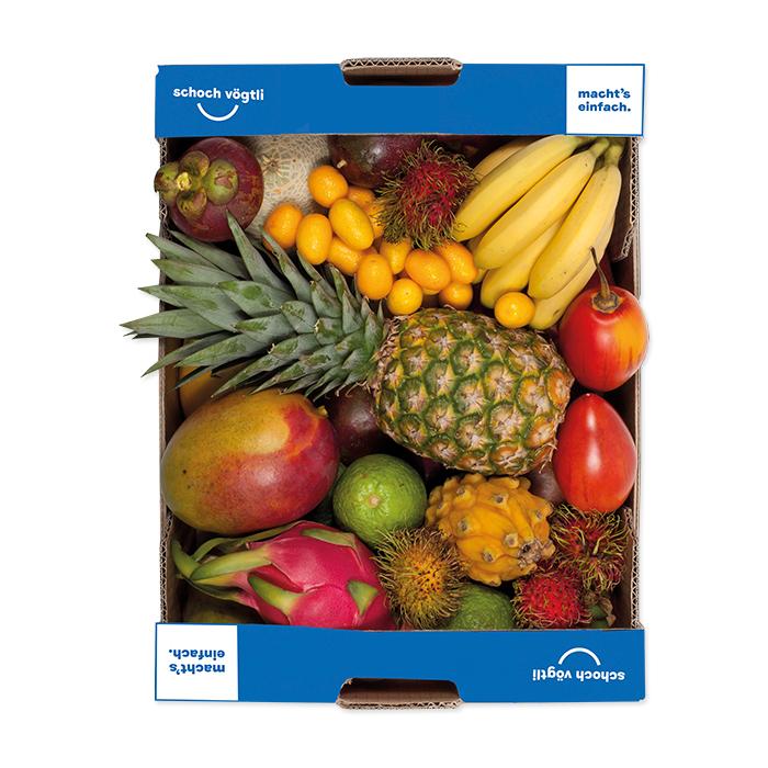 Schoch Vögtli Caisse de fruits exotiques