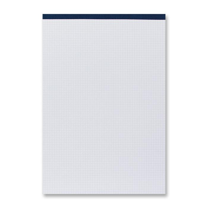 office focus Notepads 65 gm² A4, 4 mm cross-ruled