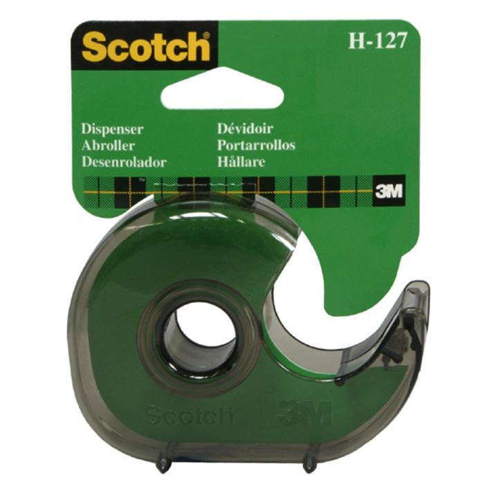 Scotch Hand-held dispenser H-127 smoke-transparent