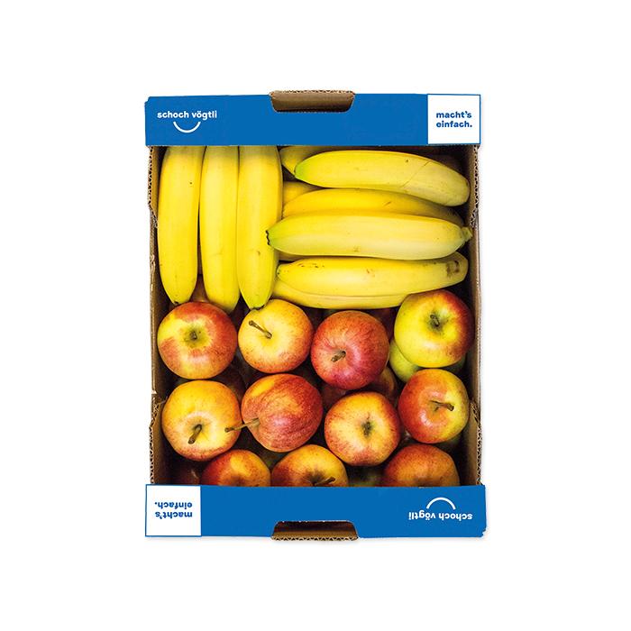 Schoch Vögtli caisse de 2 fruits bio