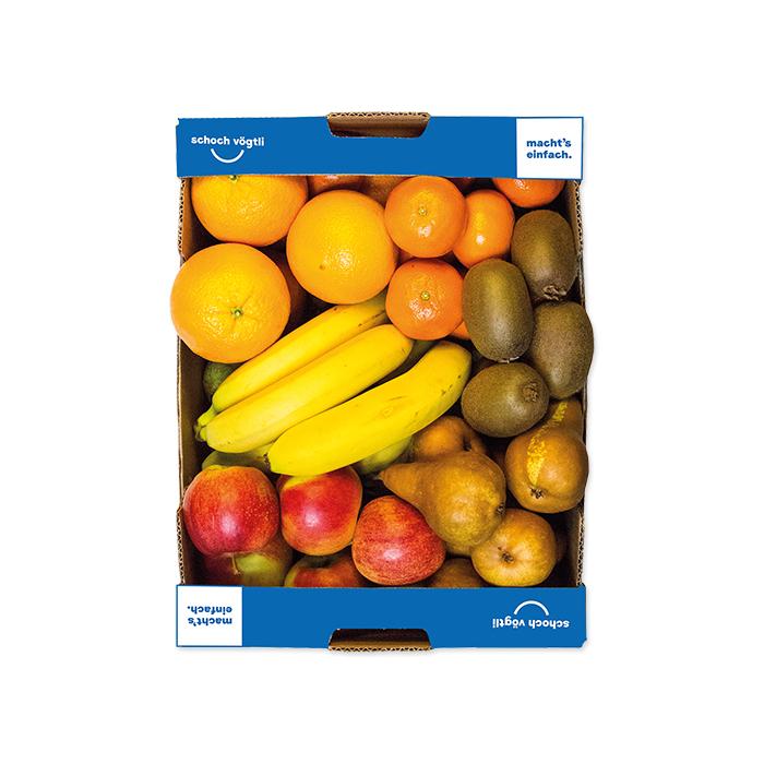 Schoch Vögtli caisse de 4 fruits bio
