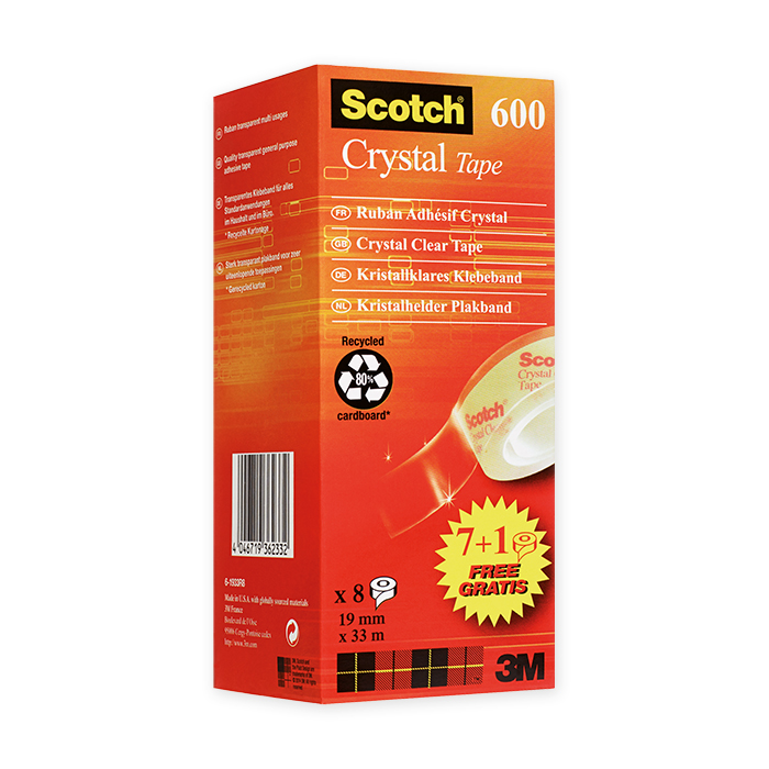 Scotch Crystal 600 Klebeband