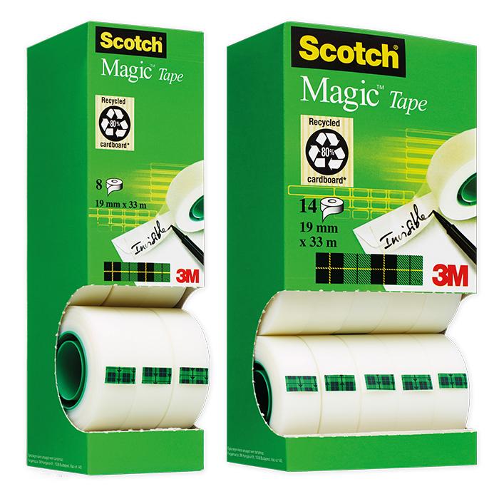 Scotch Magic Tape 810 Adhesive tape Dispenser box