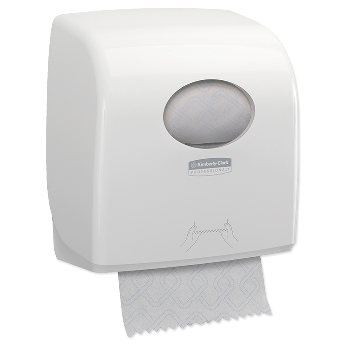 Aquarius Slimroll roll hand towel dispenser white