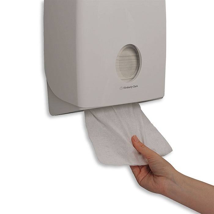 Aquaries towel dispenser  white