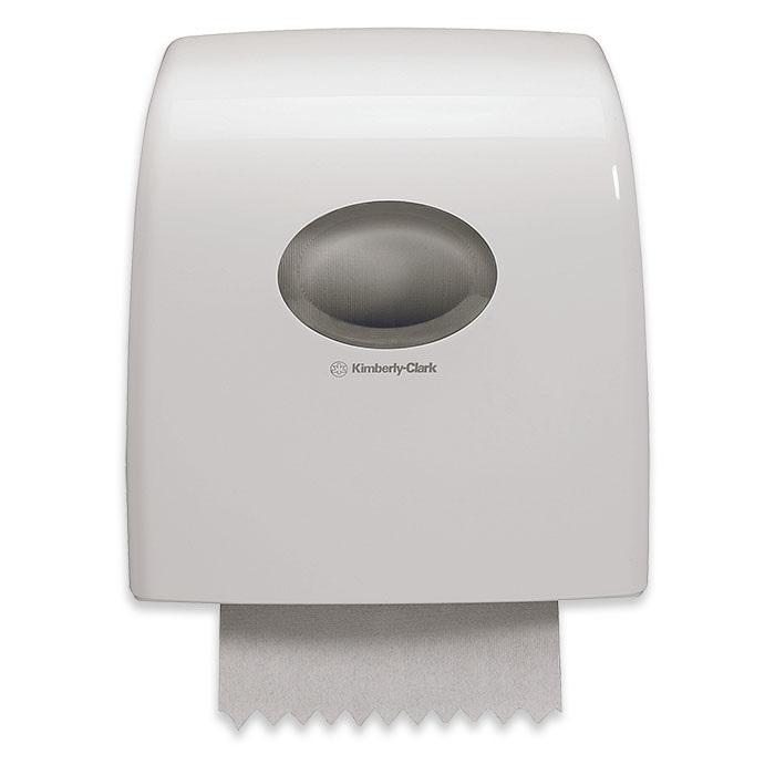 Aquarius Slimroll Distributeur de serviettes en rouleaux blanc