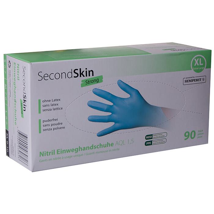Second Skin Strong Einweghandschuhe Nitril