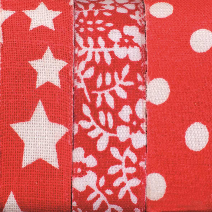 Self-adhesive textile tapes